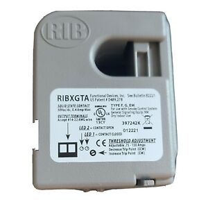 Functional Devices RIBXGTA Split Core Adjustable Current Sensing Relay 0.75-150A