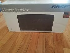 Bose Lifestyle RoomMate (black) powered speaker system with PMC II remote