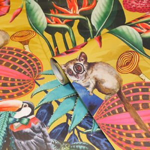 Quirky Wonderland, Tropical Themed Wallpaper 90