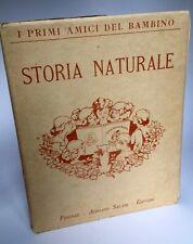 Libro Storia Naturale del Bambino Album Illustrato Enrichetta Susanna Bres 1923