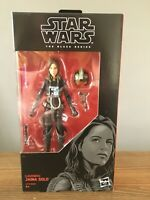"Star Wars Black Series Legends Jaina Solo 6"" Action Figure - See Decription"