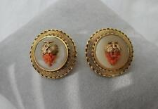 Coral Earrings Victorian Museum Quality 14K Gold Etruscan c1880 Grape Wedding