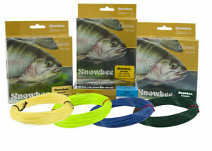 Snowbee Classic Trout Fly Line in Floating, Intermediate and Fast Sinking BNIB