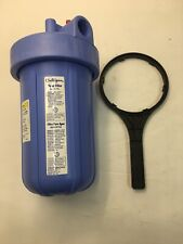 Culligan HD-950A Inlet/Outlet Filtration System Blue Housing