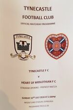 TYNECASTLE V HEARTS 22ND JULY 2018.FRIENDLY.OPENING OF GROUND.MINT.