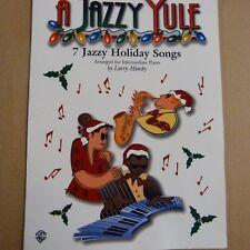 piano A JAZZY YULE 7 jazzy holiday songs, Larry Minsky, intermediate