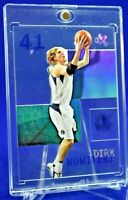DIRK NOWITZKI E-X ACETATE HOLO REFRACTOR RARE SP DALLAS MAVERICKS FUTURE HOF