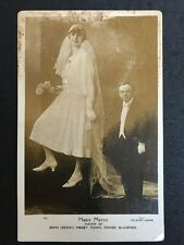 Vintage Circus Postcard - Major Marco John Lesters Midget Town Blackpool Wedding