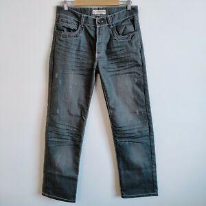 Chisel Jeans Size 30 Black Wash Straight Leg Denim Jeans Sample