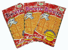 Bento Seafood Delicious Snack Squid Flavor Red Sweet Spicy Thailand Food 3x20g.