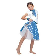 f28fd68374 Blue Children s Rock  n  Roll Skirt - N Fancy Dress Girls Costume ...