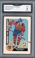 GMA 9 *Mint* MAX PACIORETTY 2008 In The Game H&P Hamilton/Montreal ROOKIE CARD!