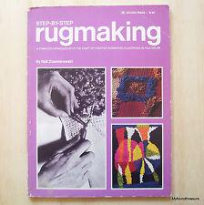 Step-By-Step Rugmaking - By Nell Znamierowski - Golden Press