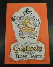 More details for theatre programme 1974 goldilocks 3 bears signed dick emery & jackie pallo &c