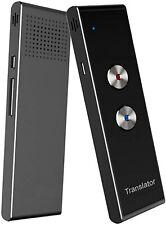 GoldTech Smart Language Translator Device Portable Foreign Language Black/Silver