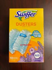 Swiffer DUSTERS Refill 180 Degree Multi Surface Cleaning ~Febreze LAVENDER 10Ct