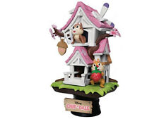 Chip N Dale Cherry Blossom Treehouse Statue – Beast Kingdom Disney Collectible