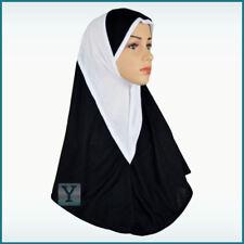 One Piece al Amira Hijab 2 colours Abaya Scarf pull on ready made instant muslim