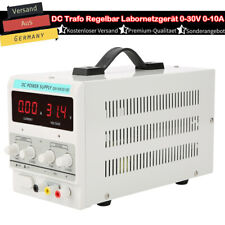 Labornetzgerät Labornetzteil DC Trafo Regelbar 0-30V 0-10A 300W Netzteil