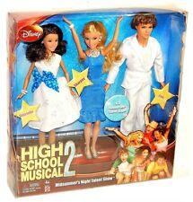High School Musical Midsummer's Night Talent Show Gabriella Sharpay Troy Set