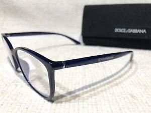 Dolce & Gabbana DG5026 Essential 3094 - 54 - 17 140 Womens Navy Blue Eyeglasses