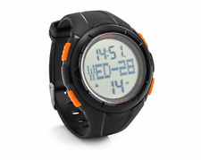 Scruffs Black Activity Tracker Watch - Work Sports Water Resistant Pedometer