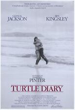 TURTLE DIARY Movie POSTER 27x40 Ben Kingsley Glenda Jackson Richard Johnson