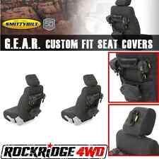 Smittybilt G.E.A.R. Custom Fit Front Seat Covers 07-12 Jeep Wrangler JK JKU Pair