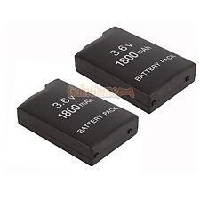 2x NEU 3.6v 1800mah Akku für Sony psp-110 psp-1001 PSP 1000 7z