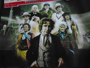 Poster - DOCTOR WHO - Eight Doctors - A3 size