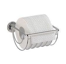 Wenko Power-Loc Edelstahl WC Toilettenpapierhalter Bovino Befestigen ohne bohren