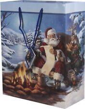 """Santa Gift Bag Medium Size 10"""" x 13"""" x 5"""""""