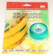 PURE RELAXATION BODY AND SOUL PIANO GUITAR AND OCEAN WAVES SPA MUSIC CD