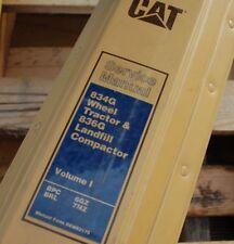 Automobilia Cat Caterpillar Cp-323 Roller Vibration Compactor Reparatur-service Manuell Anleitungen & Handbücher