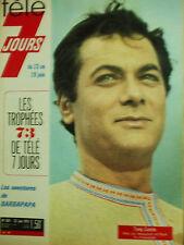 tele 7 jours  tony curtis barbapapa N°687 23 juin 1973