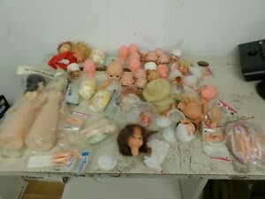 doll parts heads arms legs and more