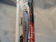 Smithwick Floating Rattlin Rogue Chrome Black Back Or Belly NEW in Package #4