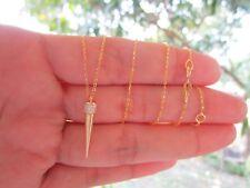 .30 Carat Diamond Yellow Gold Adjustable Necklace 14k codeNx06 sepvergara