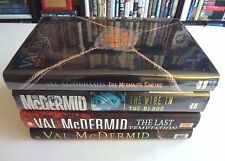 Tony Hill & Carol Jordan Mystery Series (4 Books)  by Val McDermid HC DJ 1st/1st