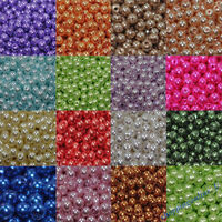 Artificial Pearl Loose Beads DIY Craft Jewelry Making Clothes Bag Decor 4-12mm