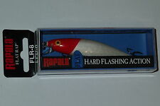 Rapala Flat Rap 8 NEW ! Japan Special Color RH Red Head Fishing Lure