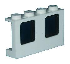Missing Lego Brick 4863 & 4862 White & Smoke Window 1 x 4 x 2 Plane & Glass for