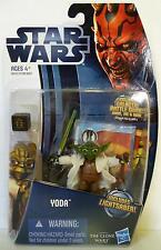 YODA Star Wars TPM The Clone Wars Action Figure #CW5 2012