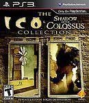 The ICO and Shadow of the Colossus Collection( ps3)