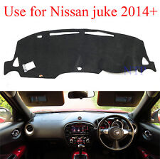 Black Dash Mat Dashmat Carpet Cover For Nissan Juke F15 Right Driver 2010 2016