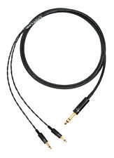 """Corpse Cable GraveDigger for FOCAL ELEAR, SONY MDR-Z7, MDR-Z1R - 1/4"""" Plug - 6ft"""