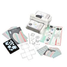 Sizzix - Big Shot Plus Starter Kit Versión Reino Unido con MLH - Blanco/Gris