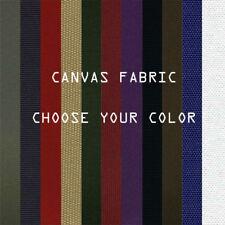 Outdoor Canvas Waterproof Fabric 600 Denier Blocks Heat and Reduce Glare 24color