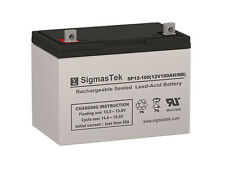 Ritar RA12-120H Replacement Battery by SigmasTek