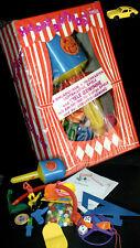 Epeso cumpleaños set OVP box Manurba juguetes Porsche vaquero sonajero perlas 80s